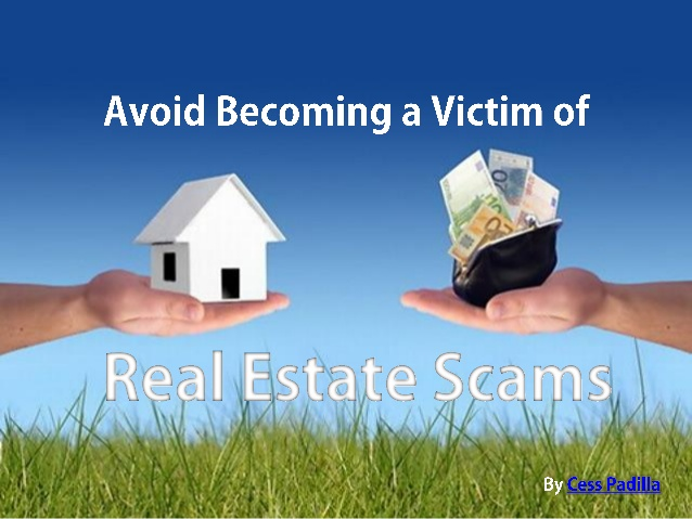 Know How to Avoid Real Estate Scams